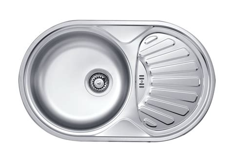 Bathroom Sinks Glass Bowls Twist 1 Bowl Round Sink With Drainer Deante