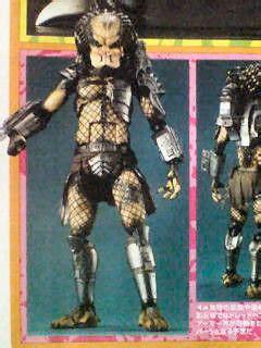 Predator Revoltech Sci Fi Series No 022 preview revoltech sci fi no 022 predator new images