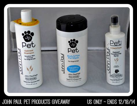 Pet Supplies Sweepstakes - john paul pet products review giveaway falchristmas ends 12 18 14 it s free