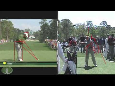 angel cabrera golf swing angel cabrera golf swing analysis youtube