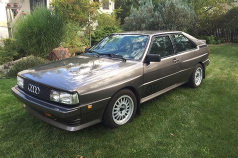 Audi Quattro Coupe For Sale by A Pristine 1985 Audi Quattro For Sale In Boulder