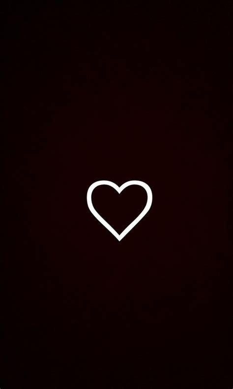 black  white heart background wallpapersafari
