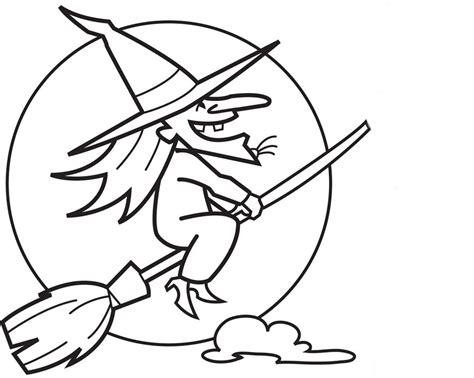 Imagenes De Brujas Bonitas Para Dibujar | brujas de halloween para colorear