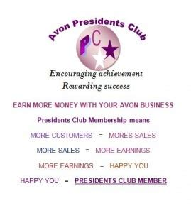 avon membership avon presidents club p c membership