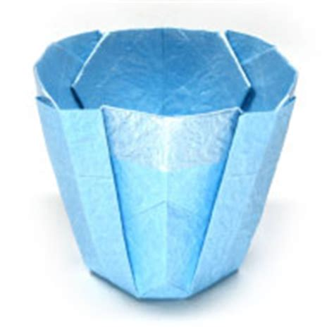 Easy Origami Cup - how to make origami cup