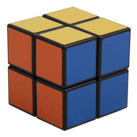 Cube L by New Shengshou 2x2 Mini Magic Cube Square Speed Cubing