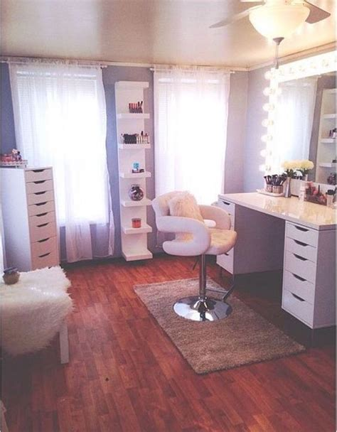 makeup vanity room ideas best 20 desk shelves ideas on desk space