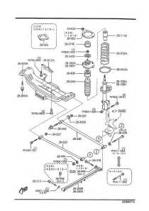 Madza Parts Mazda Protege 5 Rear Suspension Mechanisms