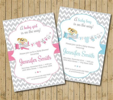 Puppy Baby Shower Theme by Best 25 Puppy Baby Showers Ideas On