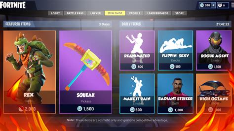 fortnite item shop what the fortnite item shop may look like in the near