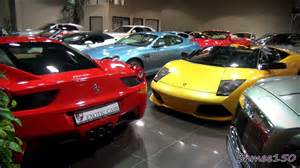 Sports Car Dealer In Dubai How Many Supercars Can You Squeeze Into A Showroom