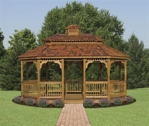 plans  build  gazebo     wooden
