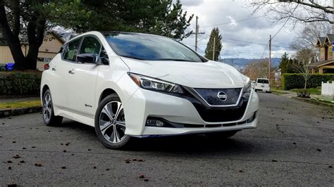 2019 Nissan Leaf Review by 2019 Nissan Leaf Plus Drive Review Of Range Electric Car
