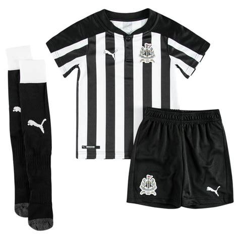 Newcastle United Mini Football Boots newcastle united home shirt 2017 18 mini kit www
