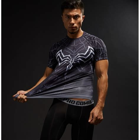 Raglan Venom by Venom Raglan Sleeve S Compression Shirt