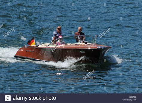motorboot italien riva klassisches motorboot comer see italien juni 2009