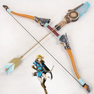 the legend of zelda breath of the wild link bow and arrows