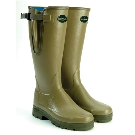 wellington boots vierzonord neoprene lined wellington boots vierzonord
