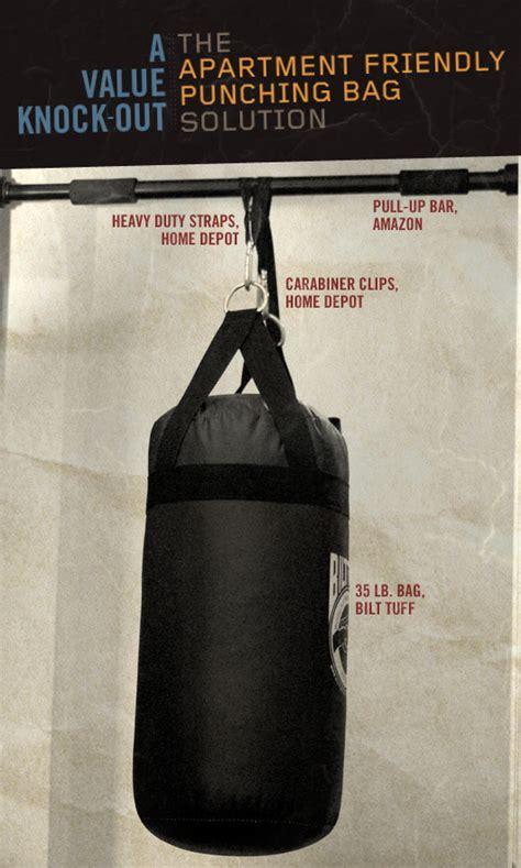 punching bag apartment friendly