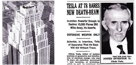 How Nikola Tesla Died For Arts Sake Nikola Tesla Out Of Time