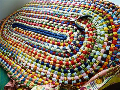 How To Knit A Rag Rug by City Home Country Home Rag Rug Update