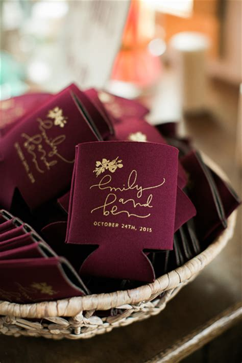 Wedding Gift Koozies by 23 Most Creative Wedding Favor Koozies Ideas For Your
