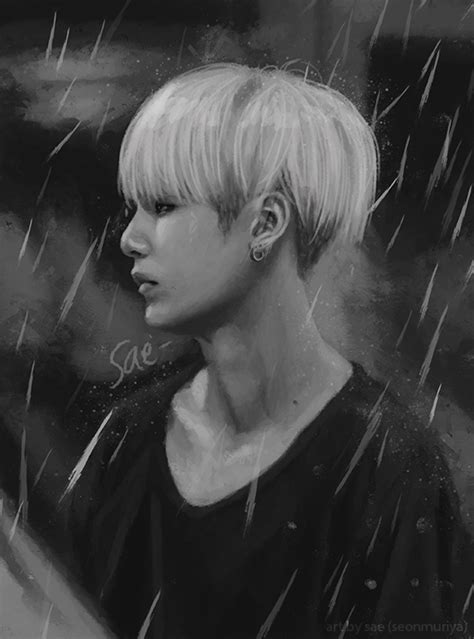 bts rain scarlet witch on twitter quot bts paintings rain series