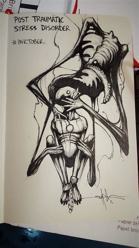 a in a sadistic world the words that got me through books these drawings capture the struggle that comes with