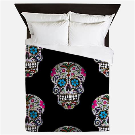 sugar skull bedding queen sugar skull bedding sugar skull duvet covers pillow