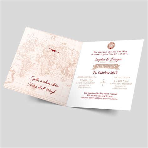 Hochzeitseinladung Weltkarte by Hochzeitseinladungen Weltkarte Alle Guten Ideen 252 Ber Die Ehe