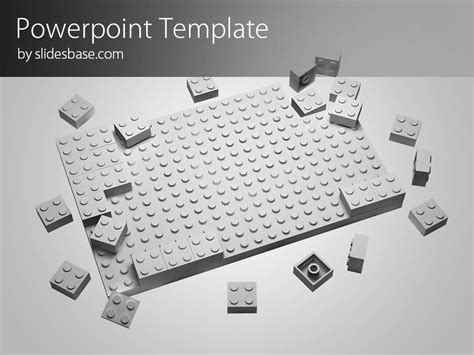 Lego Block Powerpoint Template Slidesbase Lego Templates Design