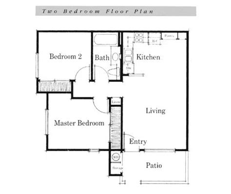 simple layout of a house simple house floor plans teeny tiny home pinterest