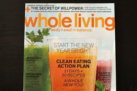 Whole Living Detox 2012 by Whole Living Magazine Plan Is Easier Than A Juice