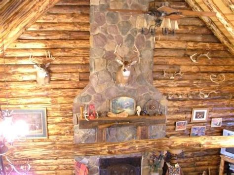 basement log cabins caves fireplaces and
