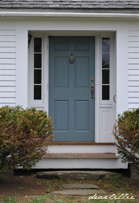 dear lillie jason s new front door color
