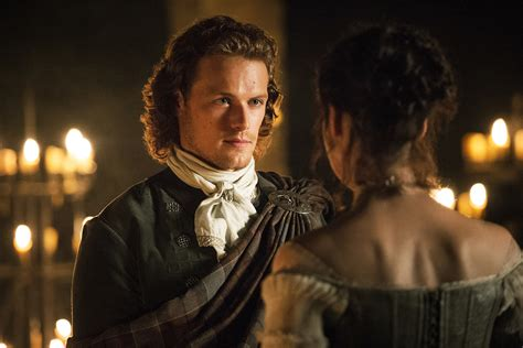 clubbing a man hair in scotland outlander 1x07 the wedding outlander 2014 tv series