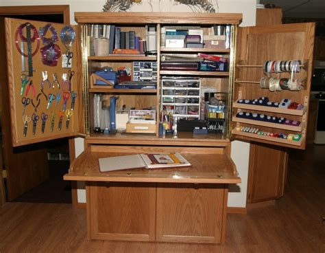 scrapbook armoire 17 best images about craft organizing ideas on pinterest