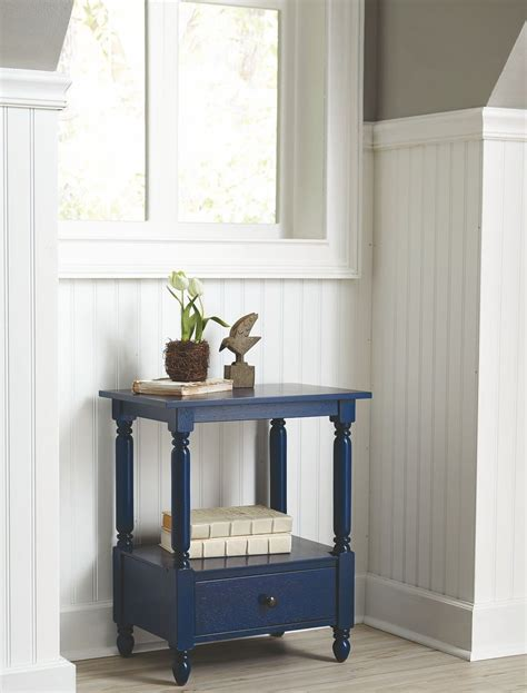 navy blue accent table navy blue accent table 902790 coaster furniture