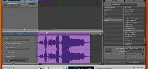 Garageband Tuner How To Auto Tune Vocals In Garageband 2 For Free 171 Garageband