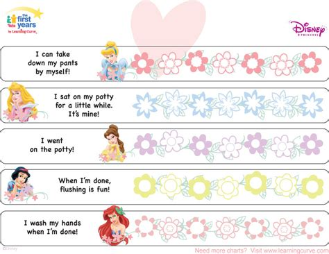 printable potty training reward chart uk disney princess potty training chart potty training concepts