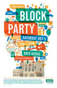 block flyer template new venue bric house opens by bam block saturday