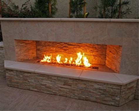 Exterior Gas Fireplace by Outdoor Gas Fireplace Home Design Ideas Pictures Remodel