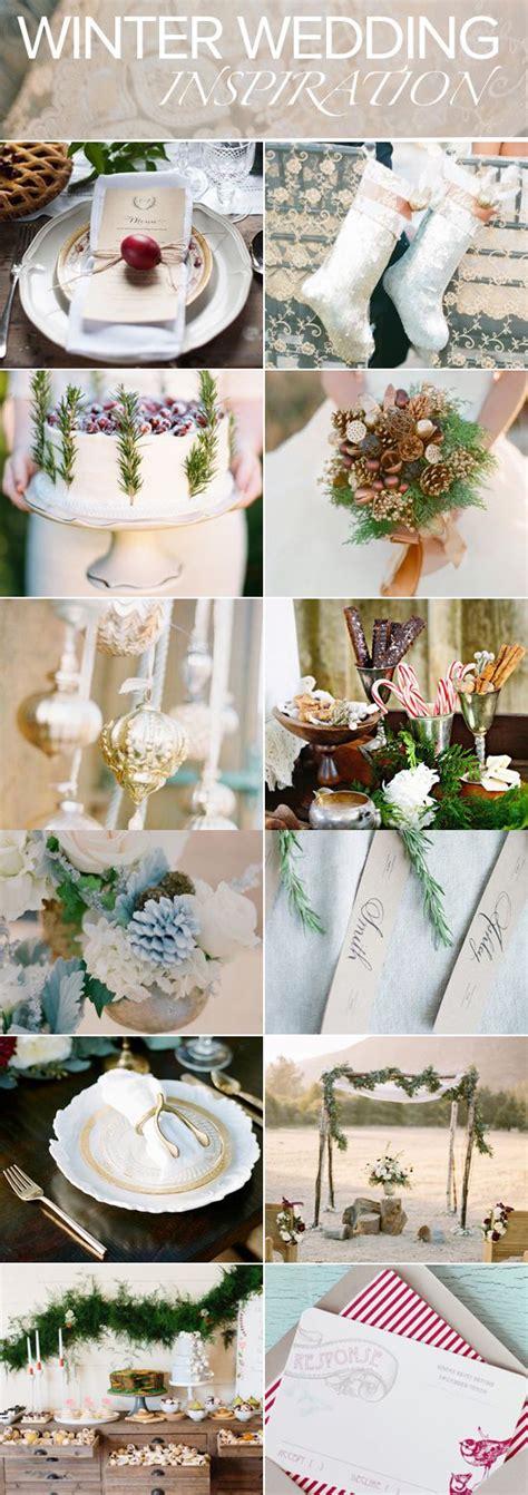 Pinterest worthy ideas for a winter wedding