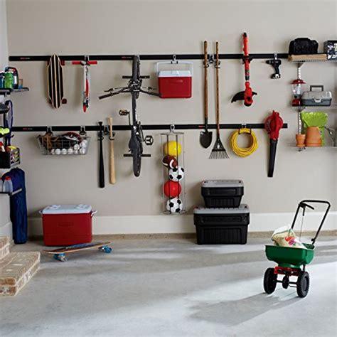 fasttrack garage organization system rubbermaid fasttrack garage storage system hose hook