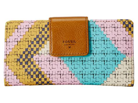 Fossil Tab Cheetah barely pink bright cheetah neutral multi