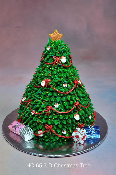 3d christmas cakes 3d christmas tree cake displaying