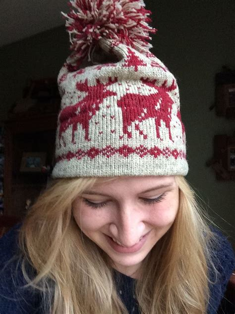moose knit sweater pattern my new home alone moose hat threads kicks bling