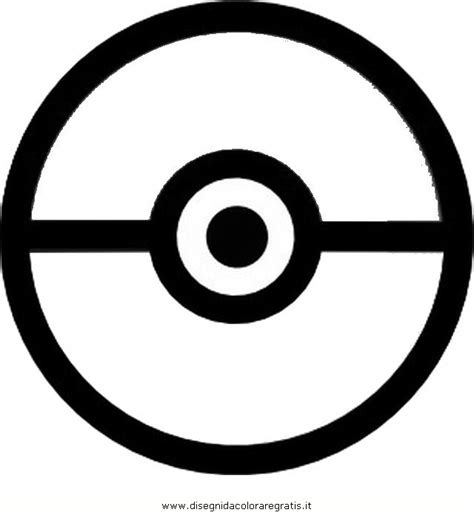 pokeball template 4 best images of printable pokeball