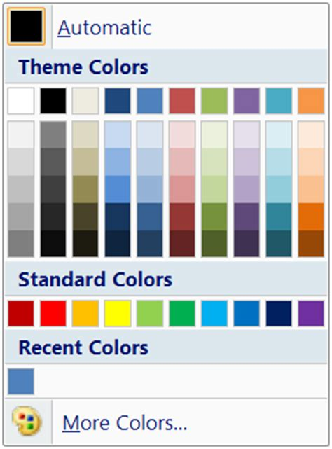colour themes word how to change theme colors in word 28 images microsoft