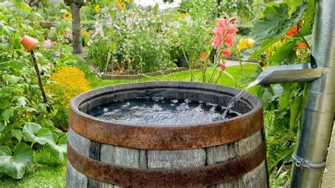 Wasser Sparen Mit Einer Regentonne Egarden
